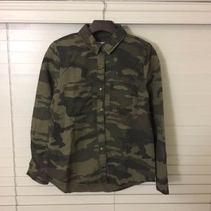 Forever 21 women military shirts